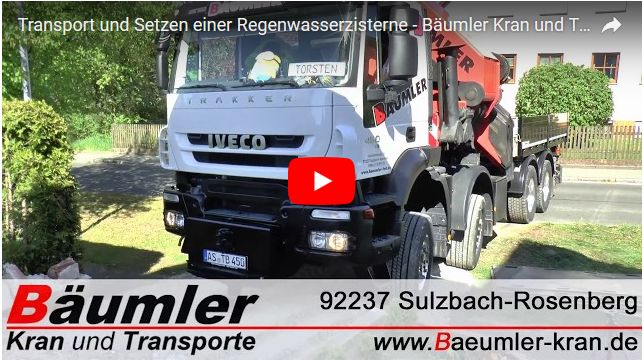 video baeumler kran transporte
